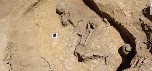 'Sleeping beauty': 2,000-year-old remains found in biblical city